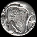 1996 medaglia 40mo AG diritto