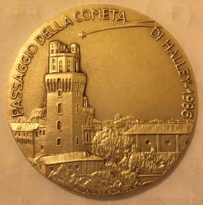Medaglia CNP 1986 cometa D